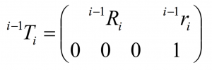 Homogene Transformationsmatrix